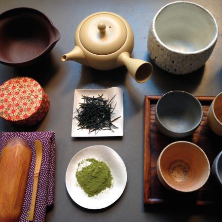 Thé vert japonais Sencha (Kyusu) / Matcha (Chawan, Chasen) - Ateliers de dégustation