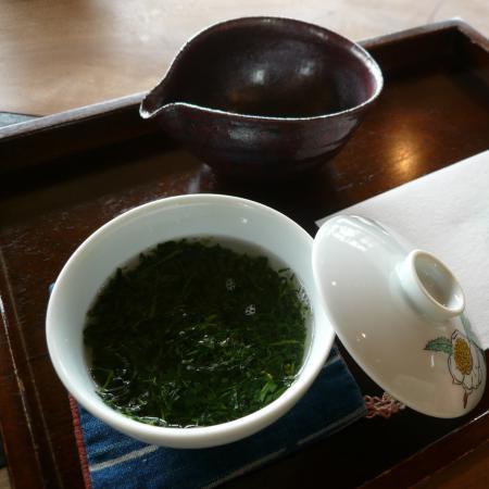 Thés verts japonais Gyokuro façon Susuri Cha