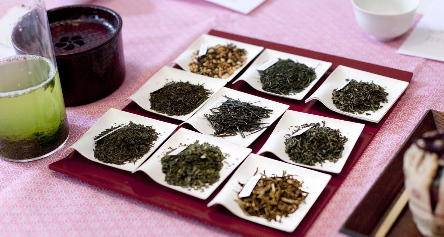 Ateliers de dégustations de thés verts japonais