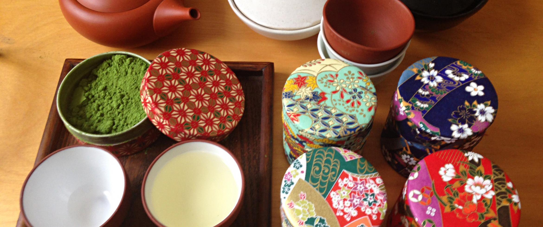 Accessoire à thés : Kyusu, boites à thé, Matcha, tasses à thé