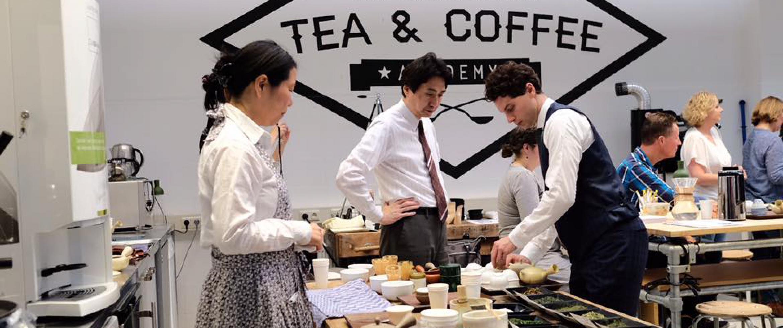 Séminaire thé vert japonais à l'ITC Academy - La Haye - Pays-Bas