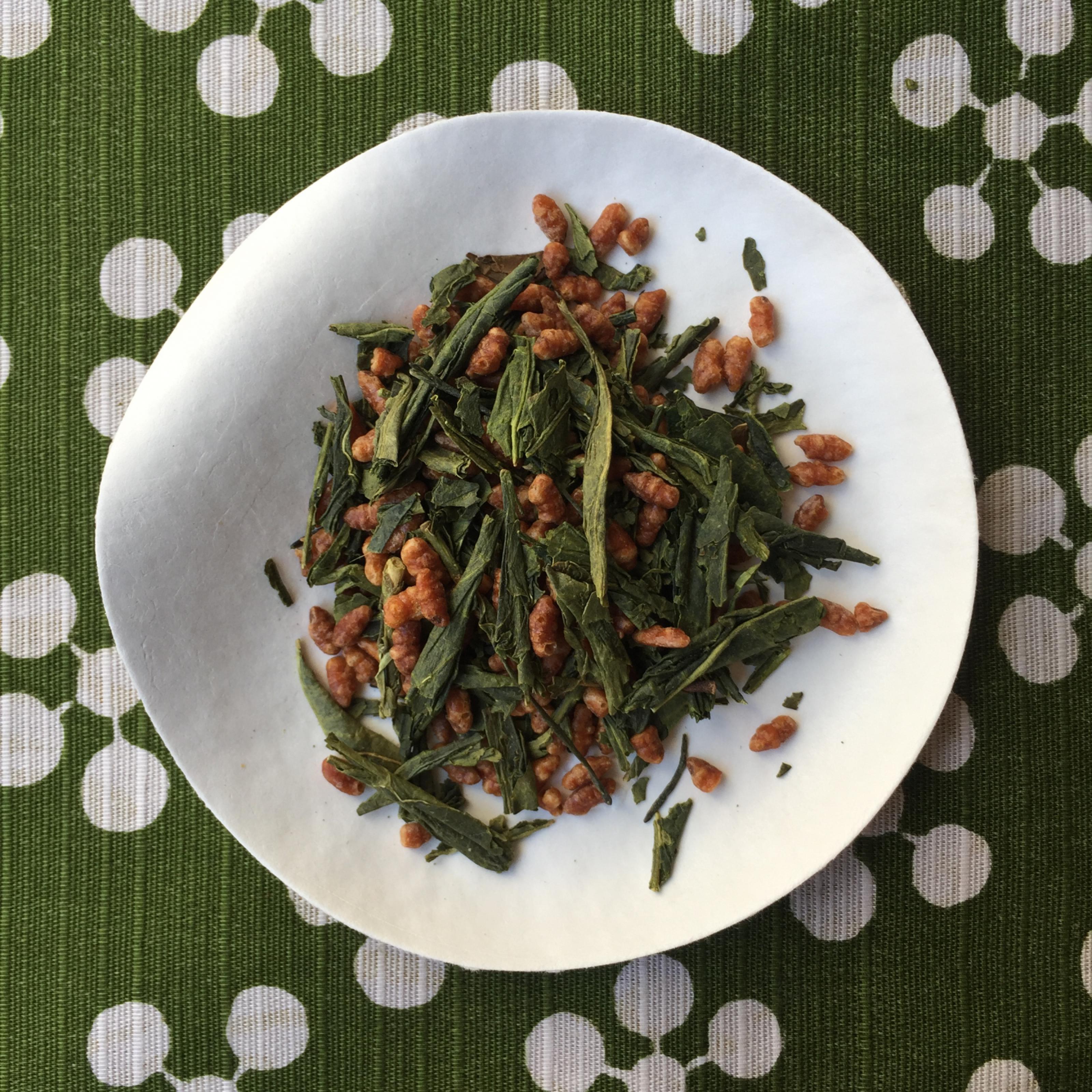 Genmaïcha Bio de Uji - bancha - thé vert japonais - Nihoncha Paris
