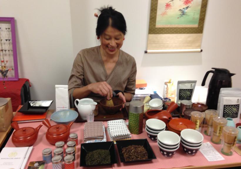 Accessoires pour thé vert japonais : Chawan, Chasen...