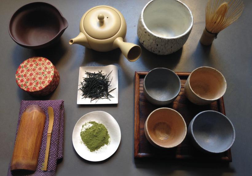 Accessoires du thé verts japonais - Dégustation Sencha / Matcha