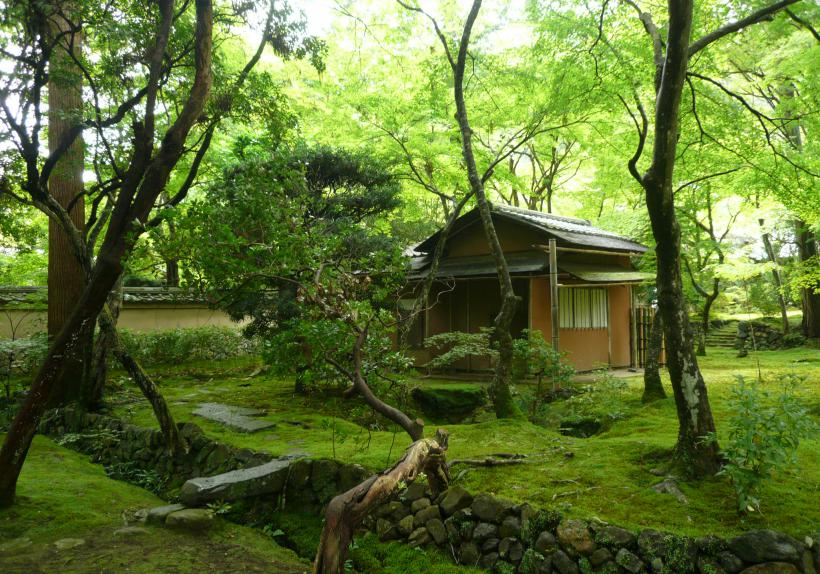 Pavillon de thé - Monastère Zen