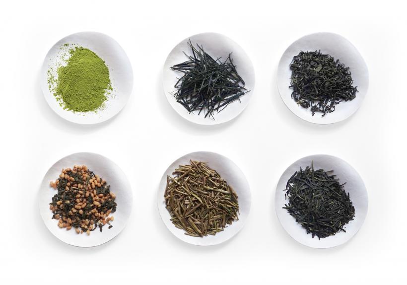 Différent thés verts japonais : Matcha, Gyokuro, Sencha, Genmaicha...